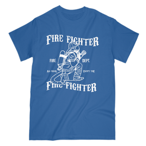 Fire Fighter Equal Except One Mens