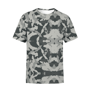 Men's Digital Grey Camo T-Shirt
