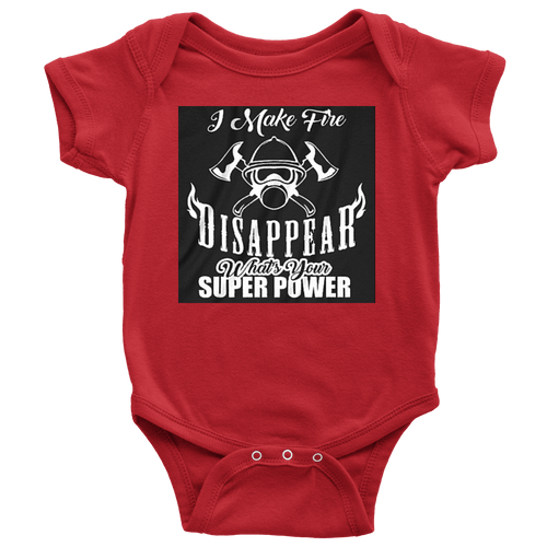 Fire Fighter Super Power Onsie