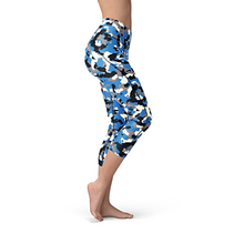 Load image into Gallery viewer, Nellie Yoga Blue Camo