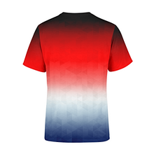 Load image into Gallery viewer, Men's Patriotic Triangles T-Shirt