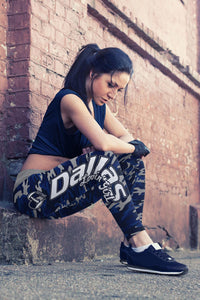 Dallas Loving Girl Camo Leggings