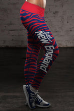 Load image into Gallery viewer, New England Ft Striped Leggings