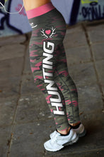 Load image into Gallery viewer, Pink Camo Hunting Leggings