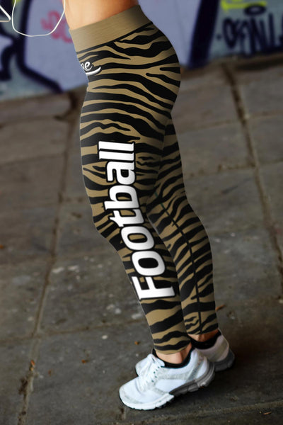 New Orleans Striped Leggings