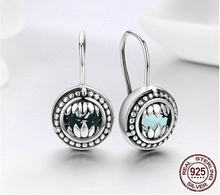 Load image into Gallery viewer, Women's Fashion Sterling Silver Drop Earrings