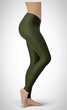 Load image into Gallery viewer, Solid Olive Buttery Soft Leggings
