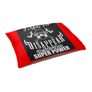 Fire Fighter Super Power Pet Bed