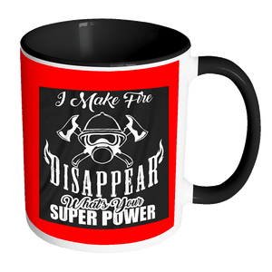 Fire Fighter Super Power Mug