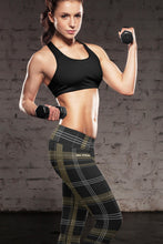 Load image into Gallery viewer, New Orleans Plaid Leggings