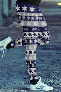 Dallas Ugly Christmas Classic Leggings