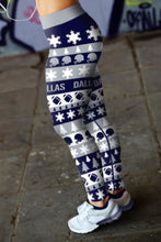 Load image into Gallery viewer, Dallas Ugly Christmas Classic Leggings