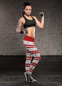 Alabama Ugly Christmas Leggings ALCF