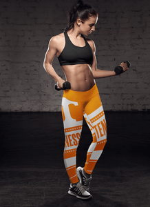 U Tennessee Vol Collector Leggings WVOE