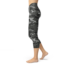 Load image into Gallery viewer, Nellie Yoga Black Hex Camo