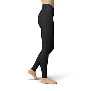 Solid Black Buttery Soft Leggings