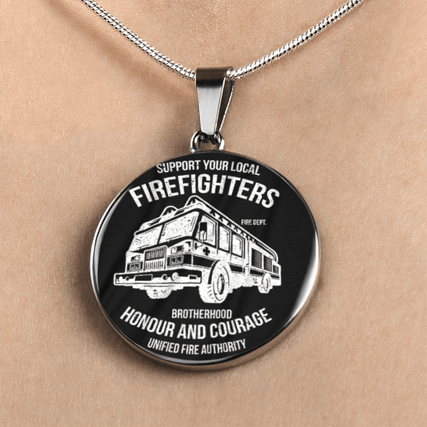 Fire Fighters Local Necklace