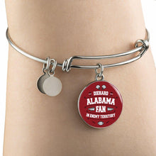 Load image into Gallery viewer, Die Hard Alabama Fan In Enemy Territory Necklace