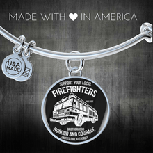 Load image into Gallery viewer, Fire Fighters Local Bracelet