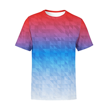Load image into Gallery viewer, Men's Mixed Triangles T-Shirt