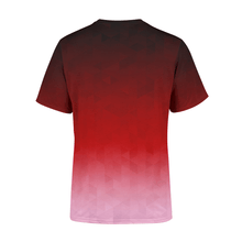 Load image into Gallery viewer, Men's Crimson Triangles T-Shirt