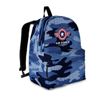 Load image into Gallery viewer, Air Force Backpack