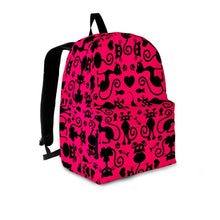 Load image into Gallery viewer, Cats Pink Backpack