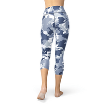 Load image into Gallery viewer, Nellie Yoga Dark Blue Camo