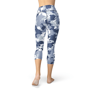 Nellie Yoga Dark Blue Camo