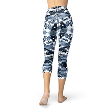 Load image into Gallery viewer, Nellie Yoga Navy Camo