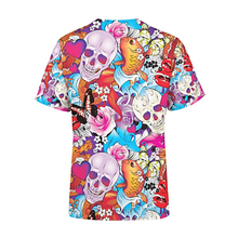 Load image into Gallery viewer, Men's Tattoo Skulls T-Shirt