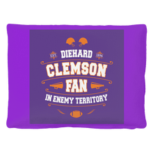 Load image into Gallery viewer, Clemson Die Hard Fan Pet Bed