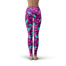 Load image into Gallery viewer, Stain Glass Leggings