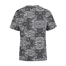 Load image into Gallery viewer, Men's Black Lace T-Shirt