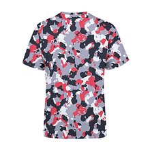 Load image into Gallery viewer, Men's Red White Camo T-Shirt