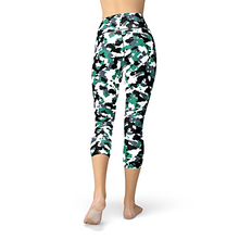 Load image into Gallery viewer, Nellie Yoga Green White Camo
