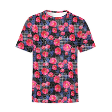 Load image into Gallery viewer, Men's Digital Flowers T-Shirt