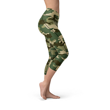 Load image into Gallery viewer, Nellie Yoga Green Camo