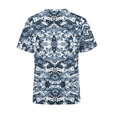 Load image into Gallery viewer, Men's Navy Camo T-Shirt