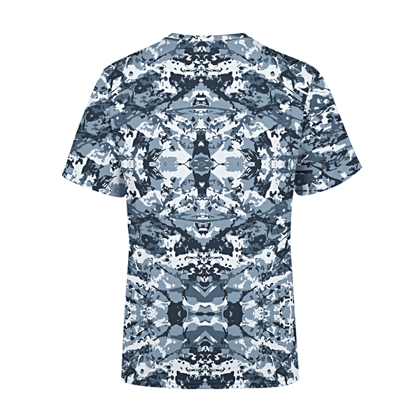 Men's Navy Camo T-Shirt