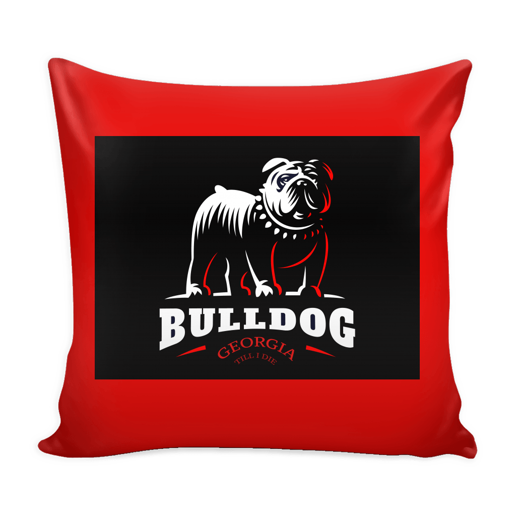 Georgia Till I Die Pillow Cover