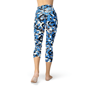 Nellie Yoga Blue Camo