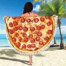Load image into Gallery viewer, Pizza Beach Blanket