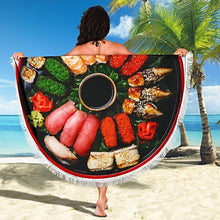 Load image into Gallery viewer, Sushi Beach Blanket