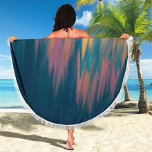 Load image into Gallery viewer, Carpe Noctem 3 Round Beach Blanket