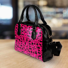Load image into Gallery viewer, Cats Pink Handbag