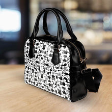 Load image into Gallery viewer, Cats White Handbag