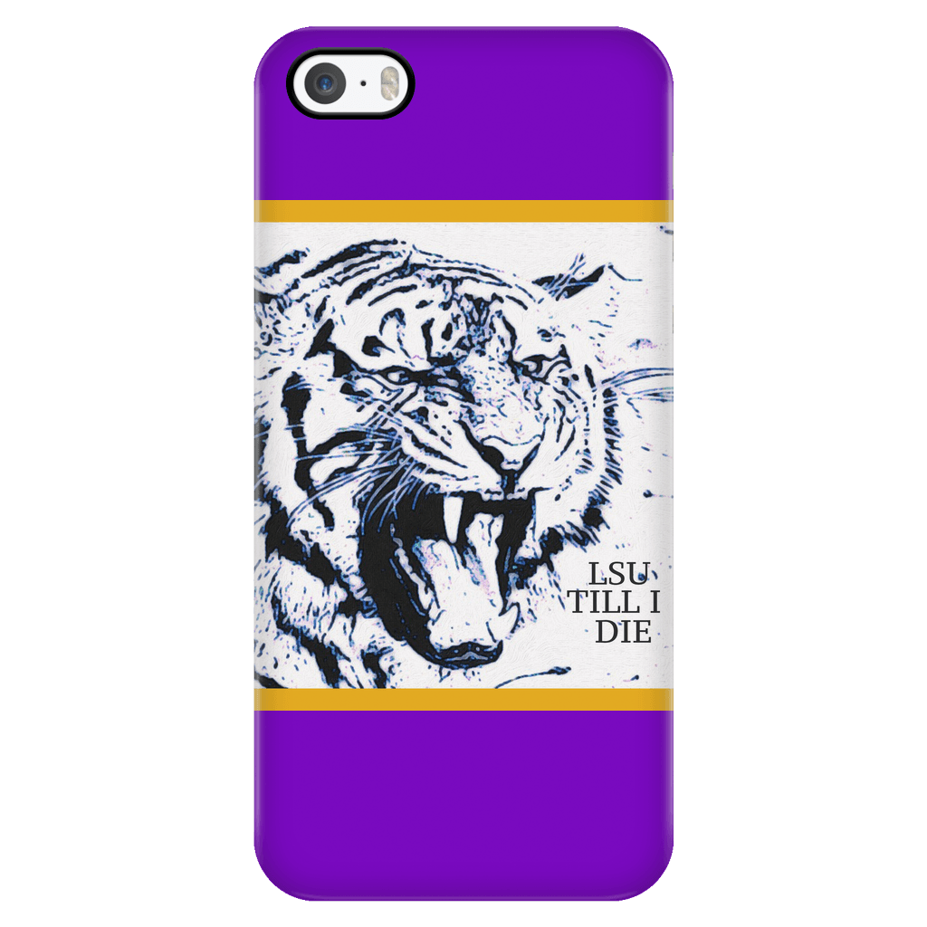 LSU TILL I DIE IPHONE 5/5s