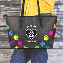 Load image into Gallery viewer, FL Veterinary Large Leather Tote Bag