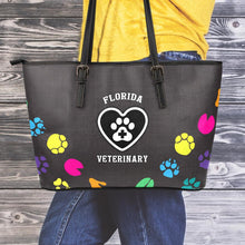 Load image into Gallery viewer, FL Veterinary Small Leather Tote Bag